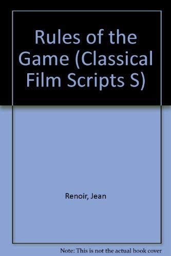 9780900855320: Rules of the Game (Classical Film Scripts S)