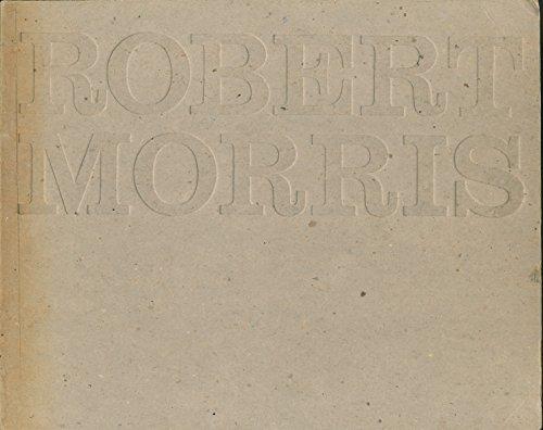 Robert Morris The Tate Gallery 28 April - 6 June 1971: Compton, Michael and David Sylvester: