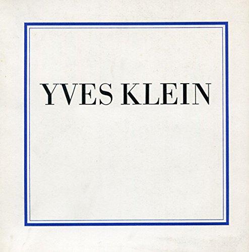9780900874734: Yves Klein, 1928-1962;: Selected writings