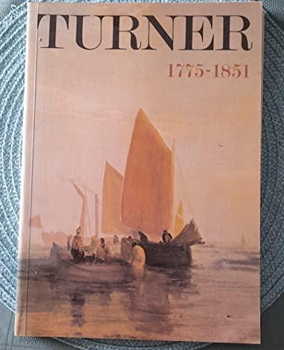 9780900874840: Turner : 1775-1851