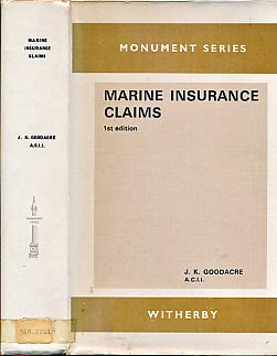 9780900886041: Marine Insurance Claims (Monument)