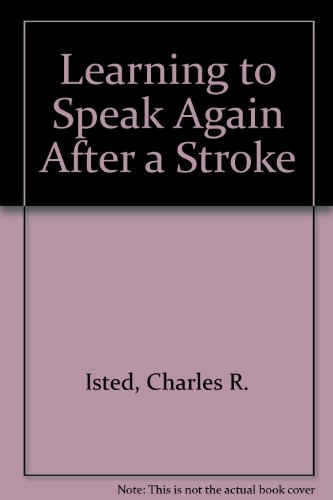9780900889752: Learning to Speak Again After a Stroke