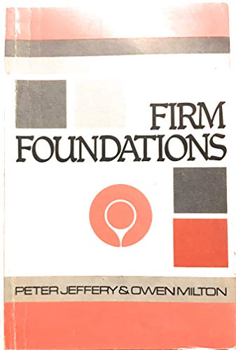 9780900898624: Firm Foundations: Great Chapters of the Bible