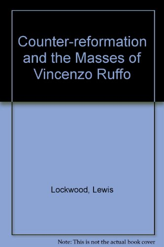 9780900938160: Counter-reformation and the Masses of Vincenzo Ruffo