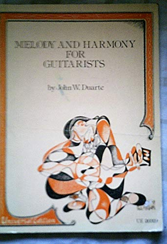 9780900938573: Melody and Harmony for Guitarists