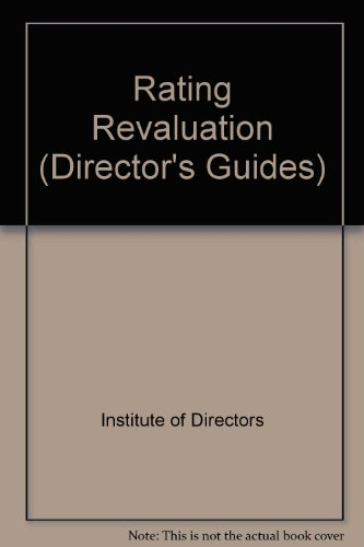 9780900939600: Rating Revaluation (Director's Guides)