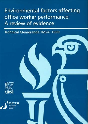 9780900953958: Environmental Factors Affecting Office Worker Performance: A Review of Evidence (Technical Memoranda)