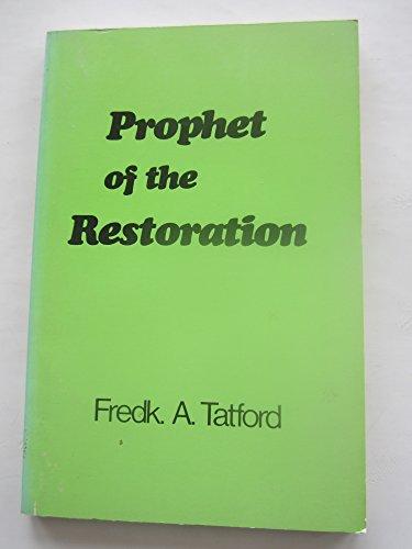 9780900972065: Prophet of the Restoration: Exposition of the Prophecy of Haggai (Twentieth century series)