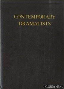 Contemporary Dramatists Contemporary Writers of the English Language Series: Vinson, James, editor