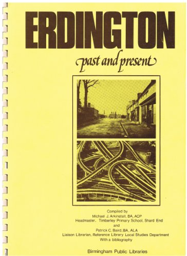 9780901011121: Erdington Past and Present