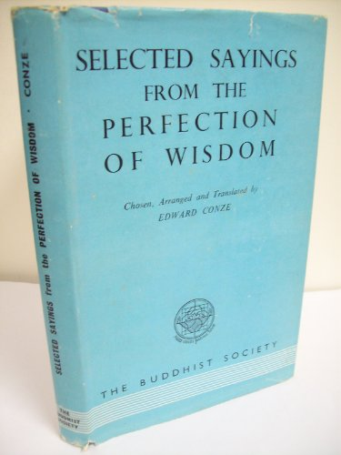 9780901032003: Prajnaparamita: Selected Sayings from the