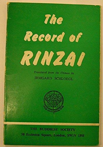 9780901032188: Record of Rinzai