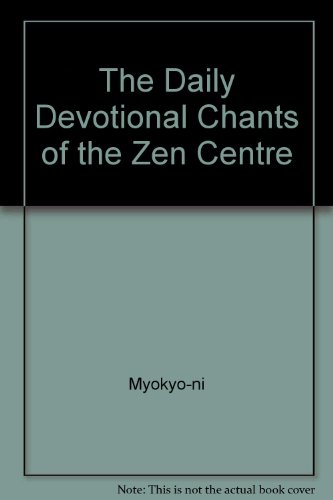 9780901032287: The Daily Devotional Chants of the Zen Centre