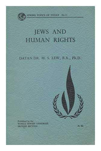 9780901057006: Jews and Human Rights