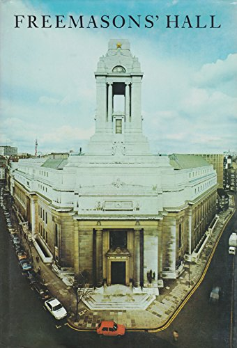9780901075093: Freemasons' Hall: The home and heritage of the craft