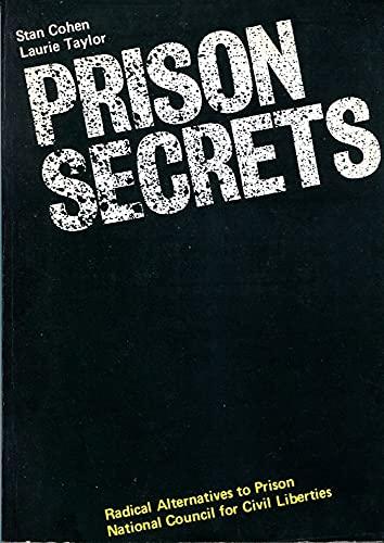 9780901108692: Prison Secrets