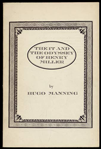 9780901111289: 'It' and the Odyssey of Henry Miller