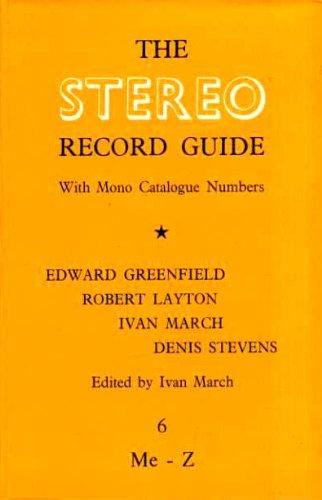 9780901143006: Stereo Record Guide: v. 6