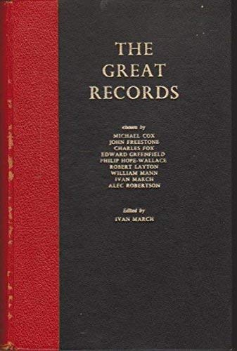 9780901143051: Great Records