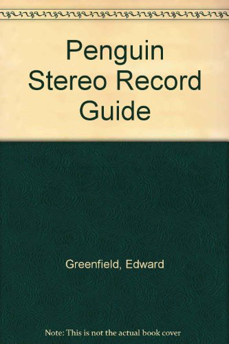 9780901143105: Penguin stereo record guide