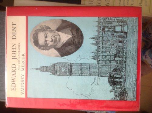 9780901180162: Edward John Dent and His Successors (Monographs Series)