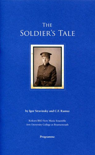 9780901196507: The Soldier's Tale: By Igor Stravinsky and C.F. Ramuz