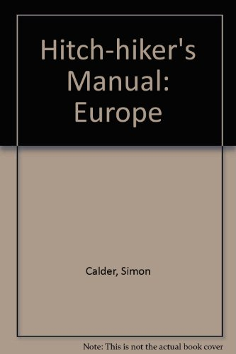 9780901205834: Hitch-hiker's Manual: Europe