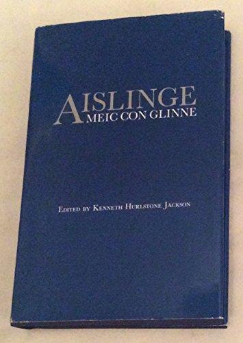 Aislinge meic con Glinne.: HURLSTONE JAKSON (Kenneth) [Ed.]