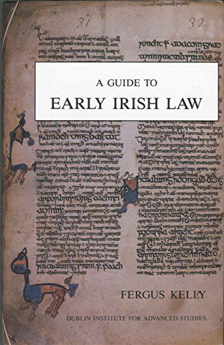 9780901282958: A Guide to Early Irish Law