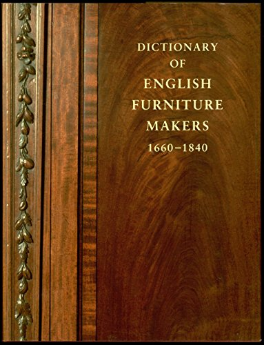 9780901286185: Dictionary of English Furniture Makers, 1660-1840