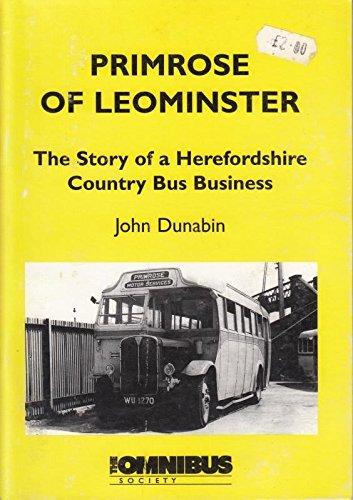 9780901307576: Primrose of Leominster