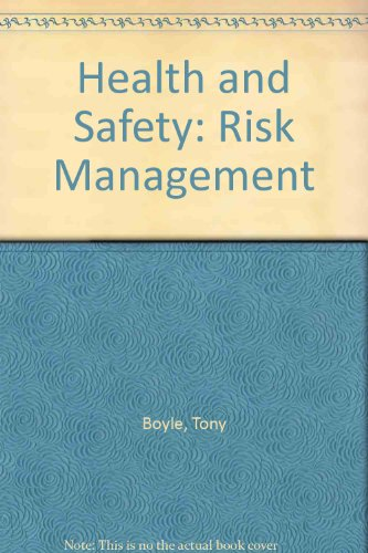 9780901357274: Health and Safety: Risk Management
