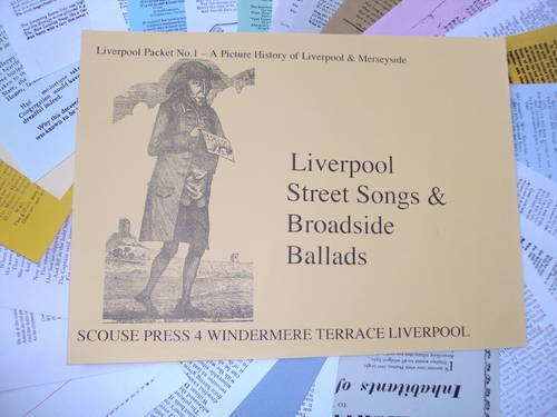 Liverpool Packet: Street Ballads, Broadsides and Sea Songs etc No. 1 (0901367117) by Fritz Spiegl