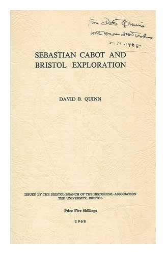 9780901388001: Sebastian Cabot and Bristol Exploration
