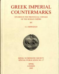 9780901405234: Greek Imperial Countermarks: Studies in the Provincial Coinage of the Roman Empire