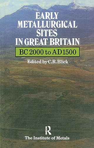 Early Metallurgical Sites in Great Britain (Matsci): Institute of Metals