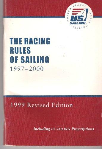 9780901501707: Racing Rules of Sailing 1997-2000