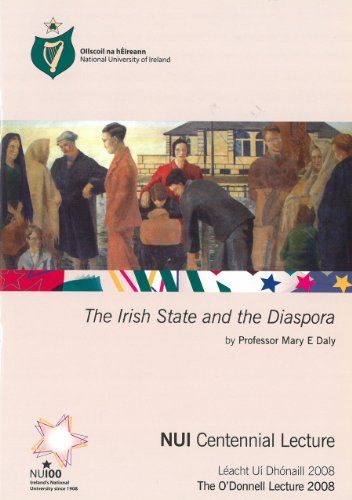 9780901510532: The Irish State and the Diaspora (O'Donnell Lecture)