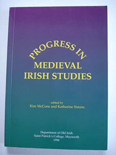 9780901519405: Progress in Medieval Irish Studies
