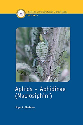 9780901546913: Aphids - Aphidinae (macrosiphini) (Handbooks for the Identification of British Insects)