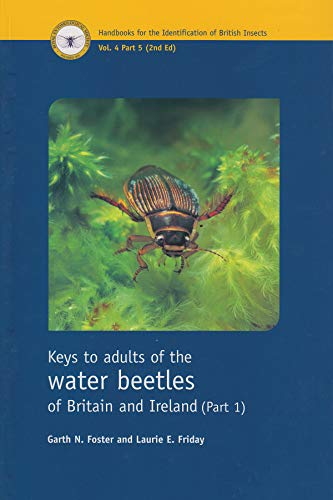 9780901546937: Keys to the Adults of the Water Beetles of Britain and Ireland: Part 1 (Handbooks for the Identification of British Insects)