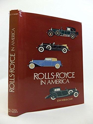 9780901564146: Rolls Royce in America