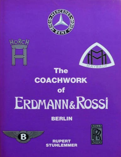 9780901564160: Coachwork of Erdmann and Rossi
