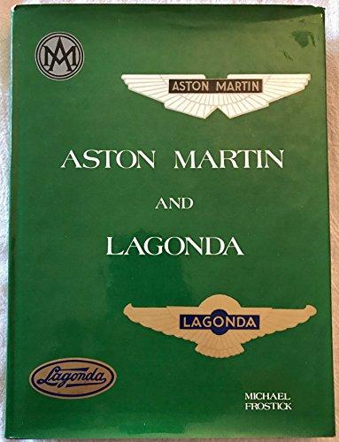 Aston Martin and Lagonda: Michael Frostick