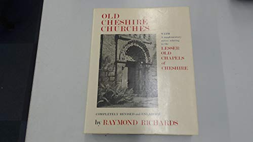 9780901598905: Old Cheshire Churches