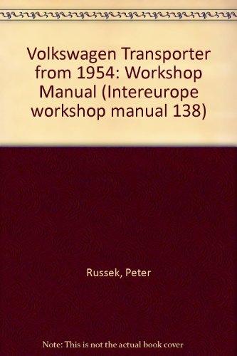9780901610225: Volkswagen Transporter from 1954: Workshop Manual