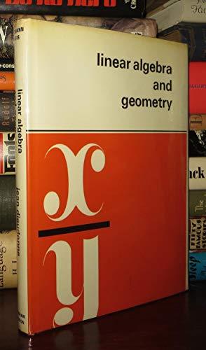 9780901665010: Linear Algebra and Geometry