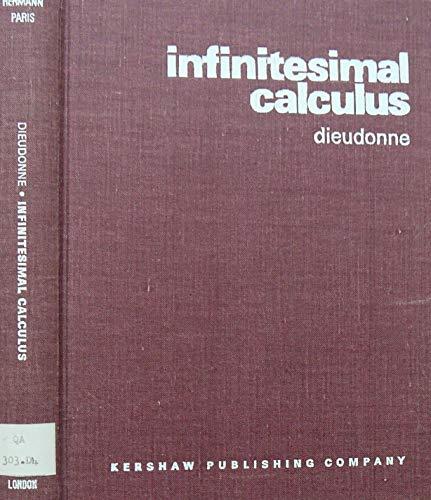 9780901665072: Infinitesimal Calculus