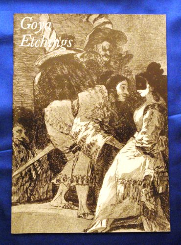 9780901673244: Francisco de Goya, Prints in the Collection of Manchester City art Galleries