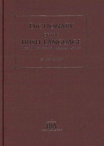 9780901714299: Dictionary of the Irish Language: Based Mainly on Old and Middle Irish Materials - Compact Edition